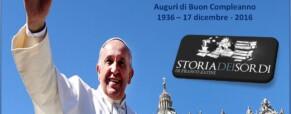 80 anni del Papa Francesco.