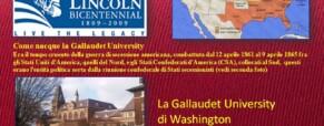 La Gallaudet University  degli Stati Uniti insegna ai sordi italiani a essere protagonisti