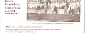 Nasce lo Sport «Silenzioso» Internazionale 1924