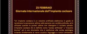 Giornata internazionale dell'impianto cocleare.