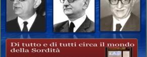 Il Presidente della Repubblica Giovanni Leone e i Sordi