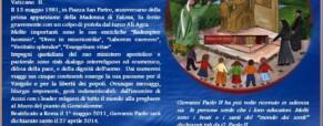 San Giovanni Paolo II e la storia dei Sordi