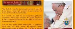 Il Giubileo della Misericordia e l'evento dei Sordi di Bologna, i due incontri importanti con i Cardinali Zuppi e Vallini.