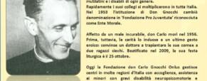 Beato Don Carlo Gnocchi nel ricordo della storia dei sordi