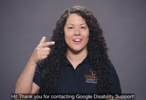 Google, assistenza per sordi con lingua dei segni