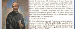 San Luigi Guanella nella memoria della Storia dei Sordi