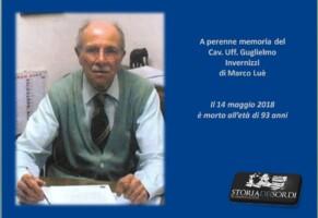 A perenne memoria del Cav. Uff. Guglielmo Invernizzi