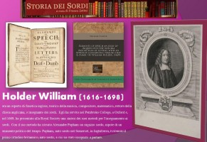 Holder William. Esperto di fonetica inglese