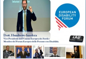 Humberto Insolera eletto nell'European Disability Forum