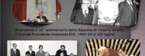 Vittorio Ieralla. Una commemorazione che lo sublima