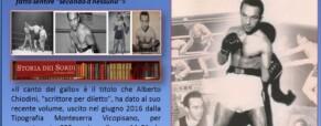 Il pugile sordo –  peso gallo  – Mario D'Agata.