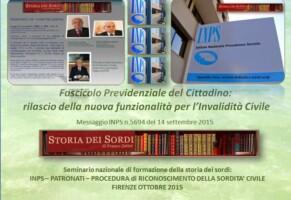 Nuova funzionalità del fascicolo INPS per l'invalidità civile