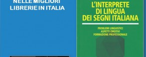 L'interprete di Lingua dei Segni Italiana.