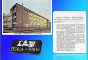 Istituto Superiore dell'Ente Nazionale Sordi di Padova 1960
