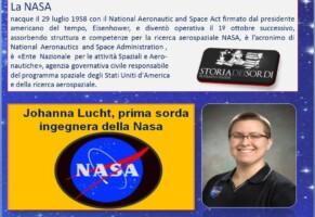 Johanna Lucht, prima sorda ingegnera della Nasa