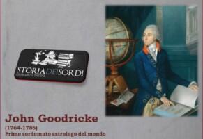 Goodricke John. Primo sordomuto astrologo del mondo (Newsletter della Storia dei Sordi n. 436  del  28 febbraio 2008)