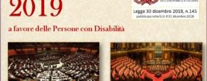 Legge di Bilancio 2019 ed i Sordi italiani
