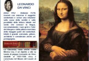 Anniversario dalla morte di Leonardo da Vinci, Conte alla presentazione delle celebrazioni