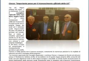 Regione Lombardia riconosce e promuove la LIS come lingua effettiva consentendo ai sordi il diritto di libera scelta.
