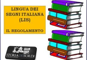 Lazio. Regolamento Lis