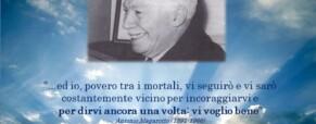 Antonio Magarotto nello storico filmato…