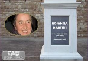 Il ricordo di Rosanna Martini. Educatrice dei sordi