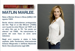 Marlee Matlin su Disney Plus con la serie life and deaf