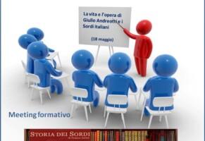 Seminari sulla storia dei sordi  2012
