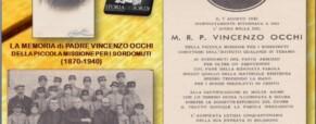 La memoria di P. Vincenzo Occhi della PMS