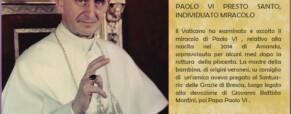 Paolo VI sarà il Santo
