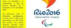 Alle Paralimpiadi di Rio terza medaglia d'oro per Rebecca Meyers