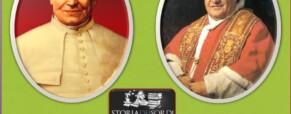Pio IX e Giovanni XXIII insieme sugli altari