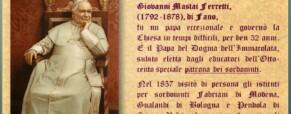 Pio IX e i Sordi nella storia.