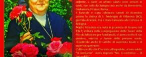 La dipartita di Suor Vincenza Pistilli della Piccola Missione per Sordi