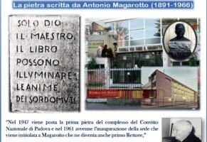 Fondatore delle scuole professionali Ens. Antonio Magarotto