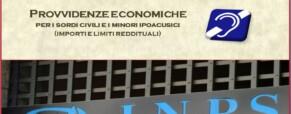 Inps. Aggiornamento delle provvidenze economiche a favore dei sordi 2016