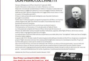 Lucchinetti Primo. Sacerdote che si occupò anche delle sordomute. (Newsletter della Storia dei Sordi n. 273 del 21 giugno 2007)