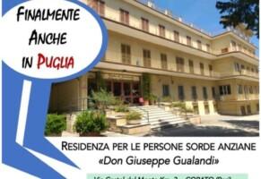 """Nuova residenza per persone sorde  """"Don Giuseppe Gualandi"""" di Corato"""