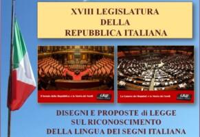 Riconoscimento Lis – XVIII Legislatura