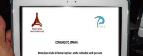 Protezione Civile di Roma Capitale: anche i cittadini sordi possono comunicare con la Sala Operativa