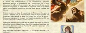 San Francesco di Paola restituì l'udito ai sordi, la parola ai muti