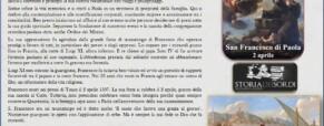 I miracoli di San Francesco di Paola nel ricordo della storia dei sordi