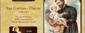 San Gaetano Thiene. Sacerdote 1480 – 1547