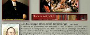 """Visita del Papa alla """"Casa della Divina Providenza"""", già Istituto Cottolengo per sordomuti"""