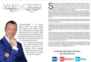 Festival di Sanremo 2020. Sottotitoli e Lingua dei Segni (audiovisivi)