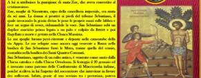 San Sebastiano, patrono delle Misericordie.