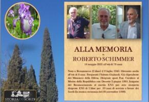 La memoria di Roberto Schimmer