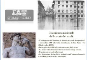 Seminario Nazionale Storia dei Sordi