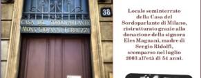 Spazio Sergio Ridolfi della Casa del Sordoparlante di Milano (Newsletter della Storia dei Sordi n. 733 del 27 ottobre 2009)