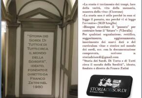 Seminari della Storia dei Sordi 2017
